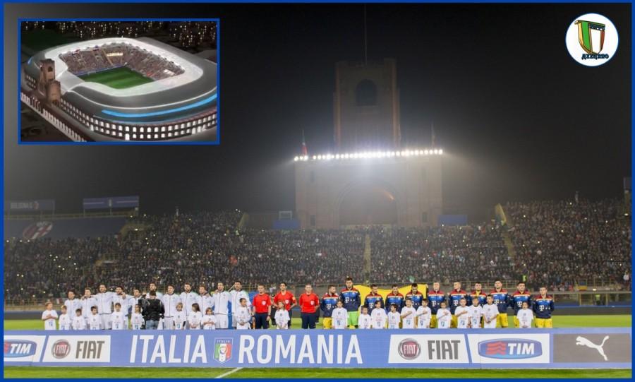 Stadi azzurri: il restyling delDall'Ara